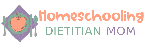 Homeschooling Dietitian Mom